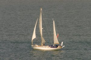190723 a: Gipsy Moth IV from Calshot tower