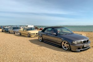 190721 b: cars in Lepe car park